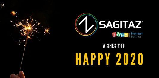Feliz Año Nuevo de parte de Sagitaz Zoho Premium Partner