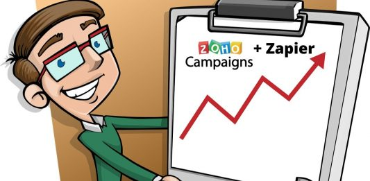 Integración de Zapier y ZOHO Campaigns