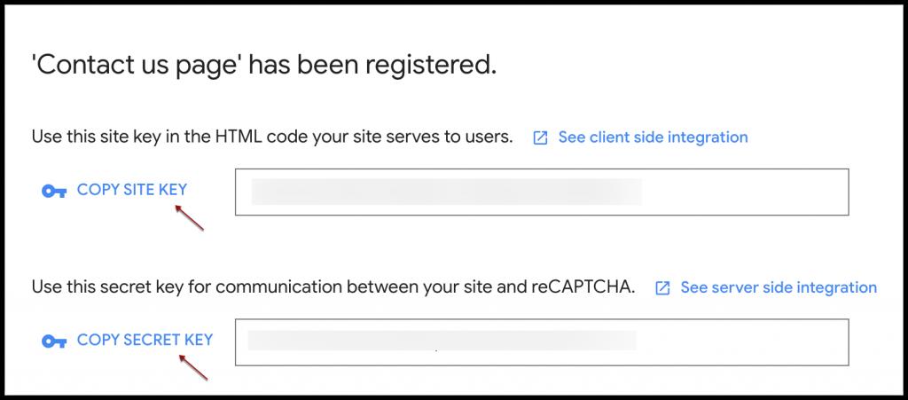 reCAPTCHA en ZOHO CRM