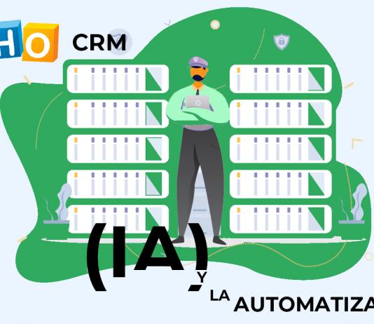 AI automatizaciones y bots ZOHO CRM