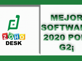 ZOHO DESK mejor Software