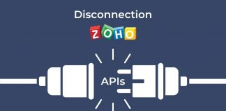 Desconexión APIs ZOHO