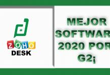 ZOHO DESK mejor Software